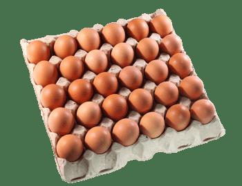 """Яйца """"Сеймовские Деревенские"""", ячейка С1 - 30 шт."""