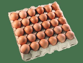 Яйца Столовые, ячейка С0 - 30 шт.