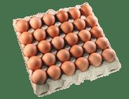 """Яйца """"Сеймовские Деревенские"""", ячейка С0 - 30 шт."""
