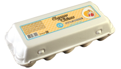 Яйца Столовые, полистирол С0 - 10 шт.
