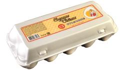 Яйца Столовые, полистирол С2 - 10 шт.