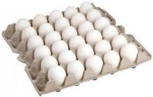 """Яйца """"Золото Сеймы"""" Белые, ячейка С0 - 30 шт."""